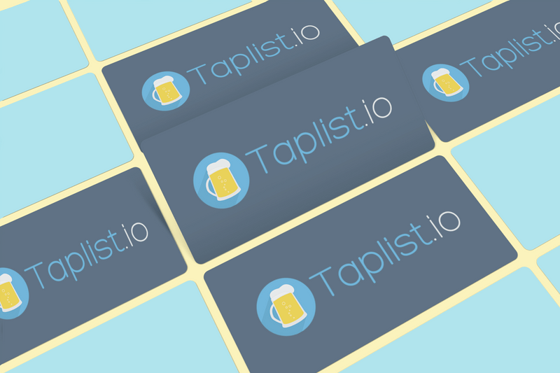 Several Taplist.io gift cards